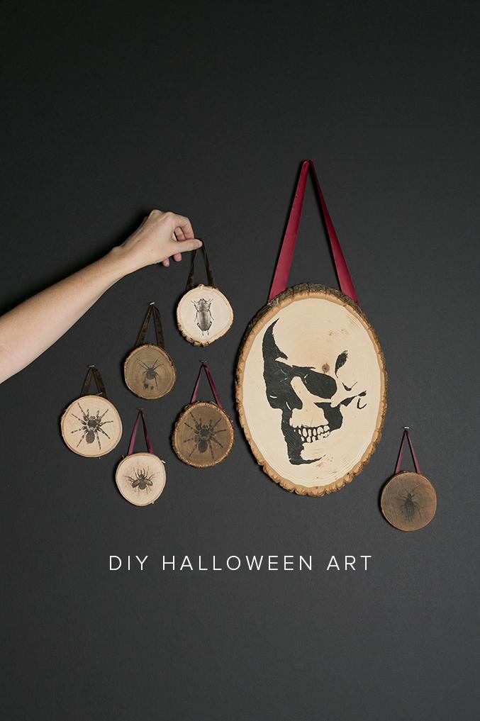halloween wood