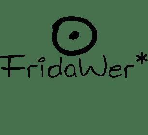 logo e firma fridawer nero