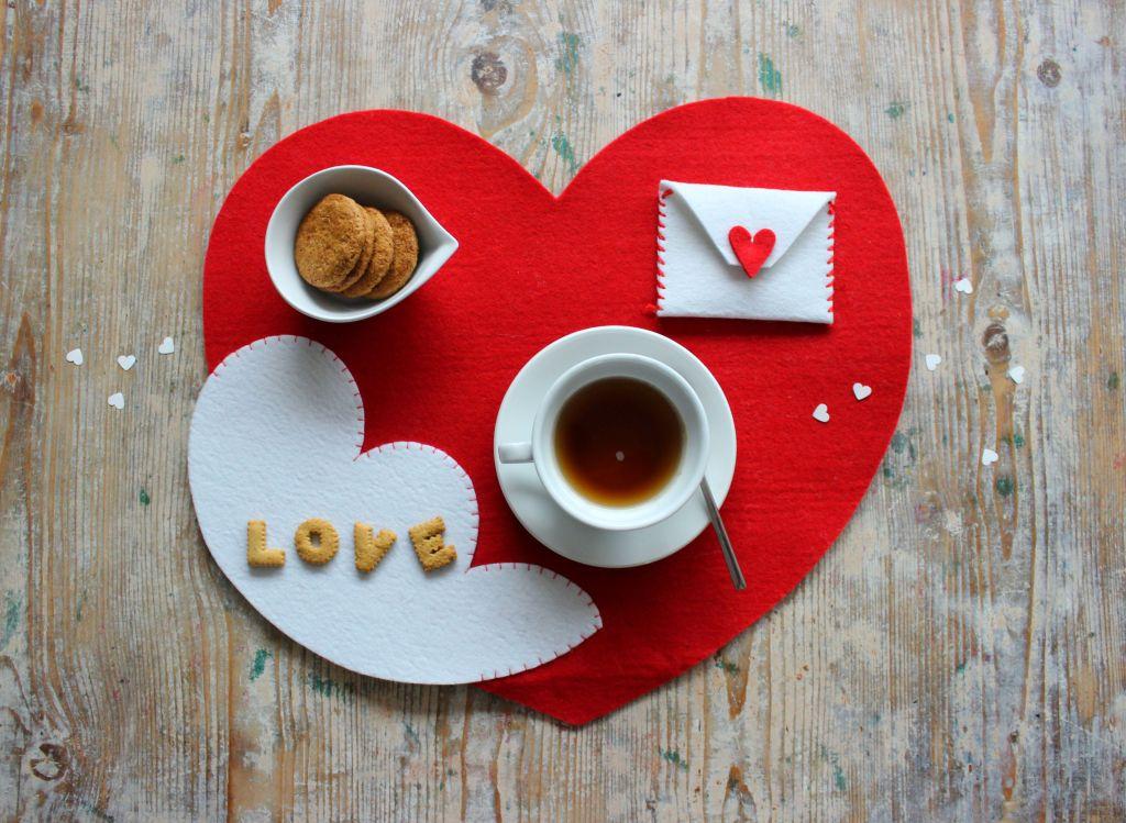 love festa degli innamorati festa di san valentino regalo speciale tovaglia da colazione