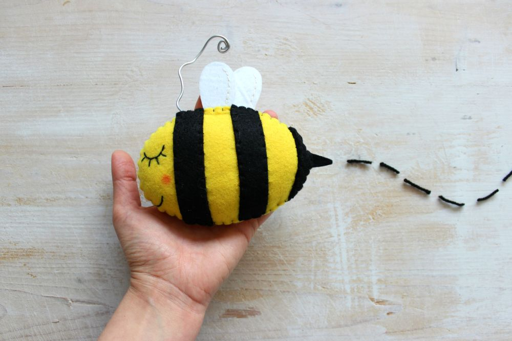 ape cucito creativo feltro