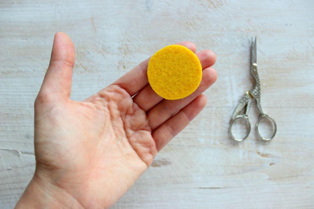 tutorial cibo giocattolo in feltro e pannolenci per bambini